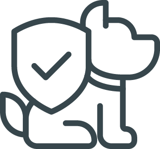 dog health screening icon